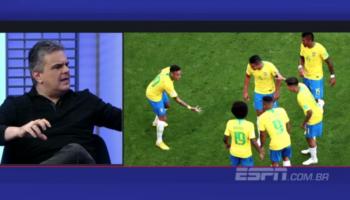 João Ricardo Cozac, psicólogo convidado do Bate Bola, comentou a falta do trabalho mental da seleção do Brasil.